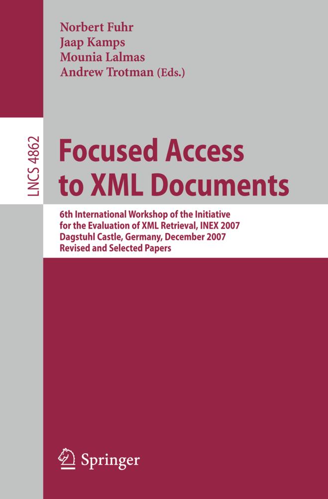 Focused Access to XML Documents als Buch von