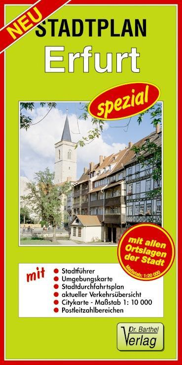 Stadtplan Erfurt - spezial als Buch von