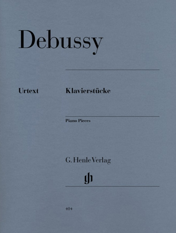 Klavierstücke als Buch von Claude Debussy