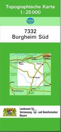 Burgheim Süd 1 : 25 000 als Buch von Breitband ...