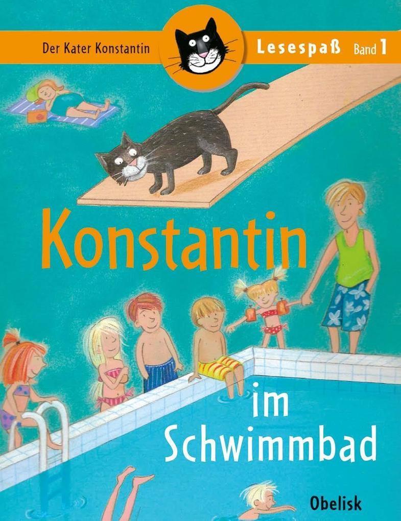 Konstantin im Schwimmbad als Buch von Walter Wi...