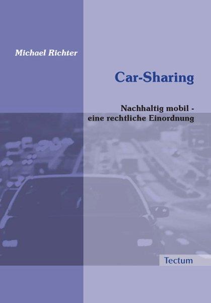 Car-Sharing als Buch von Michael Richter