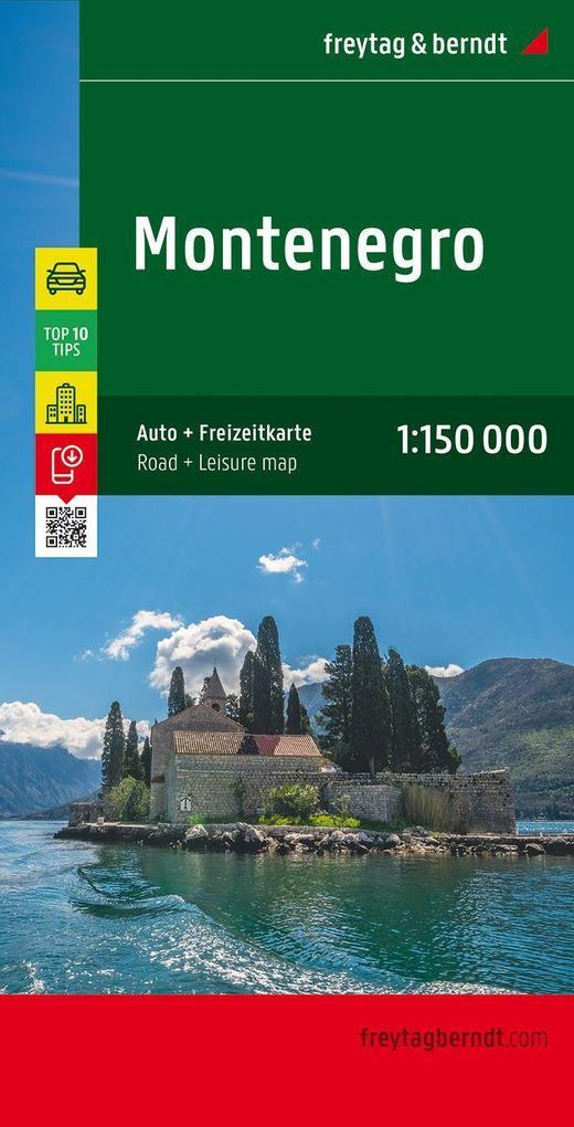 Montenegro 1 : 150 000 als Buch von