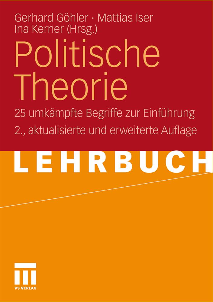 Politische Theorie als Buch von
