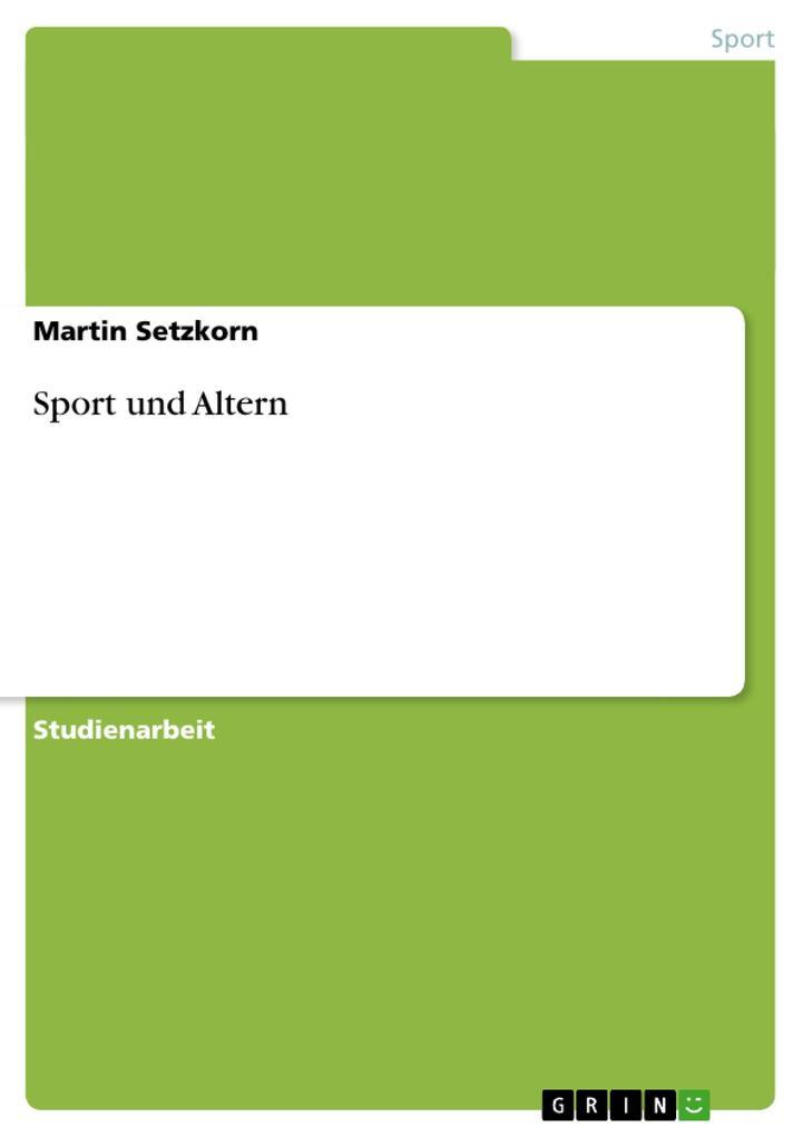 Sport und Altern