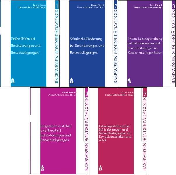 Basiswissen Sonderpädagogik. 5 Bände als Buch von