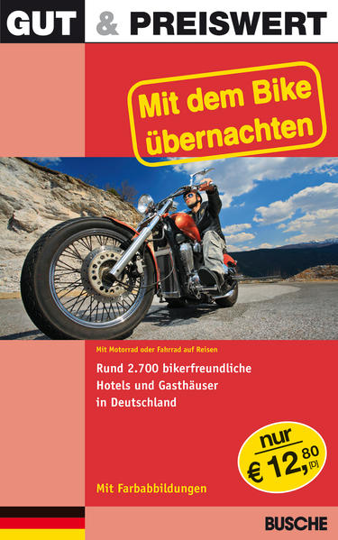 Mit dem Bike übernachten Deutschland als Buch von