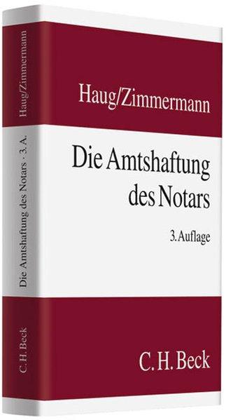 Die Amtshaftung des Notars als Buch von Karl H....