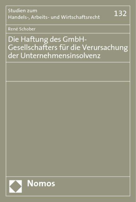 Die Haftung des GmbH-Gesellschafters für die Ve...