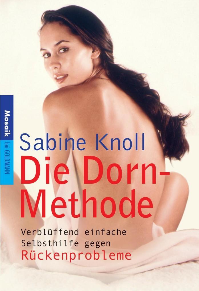 Die Dorn-Methode als eBook Download von Sabine ...