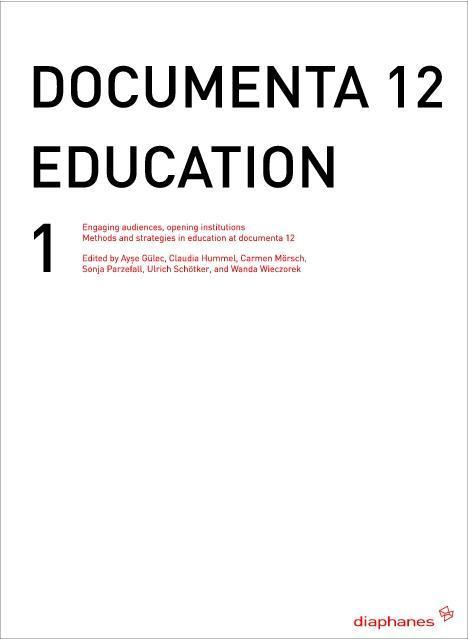 documenta 12 education I als Buch von