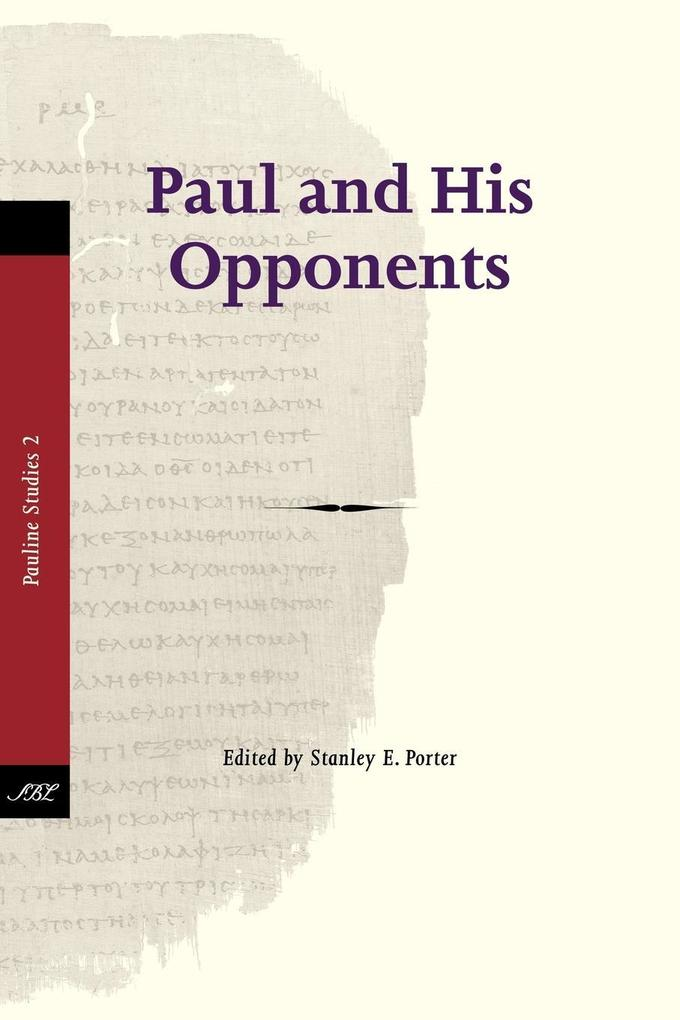 Paul and His Opponents als Taschenbuch von