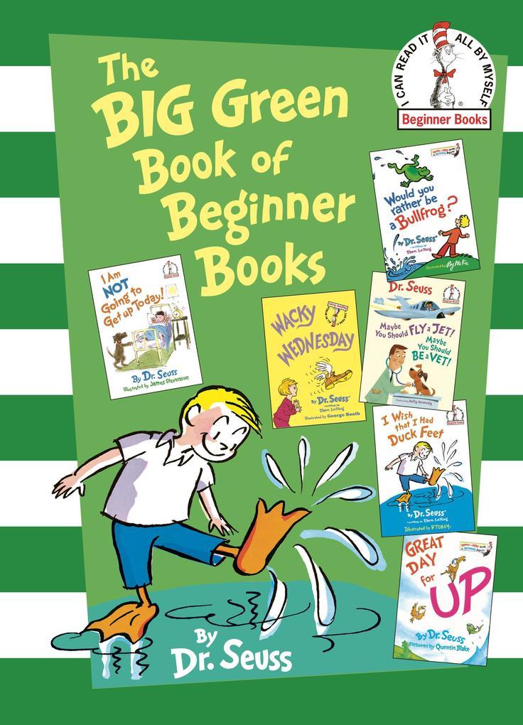 The Big Green Book of Beginner Books als Buch v...