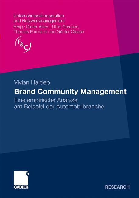 Brand Community Management als Buch von Vivian ...