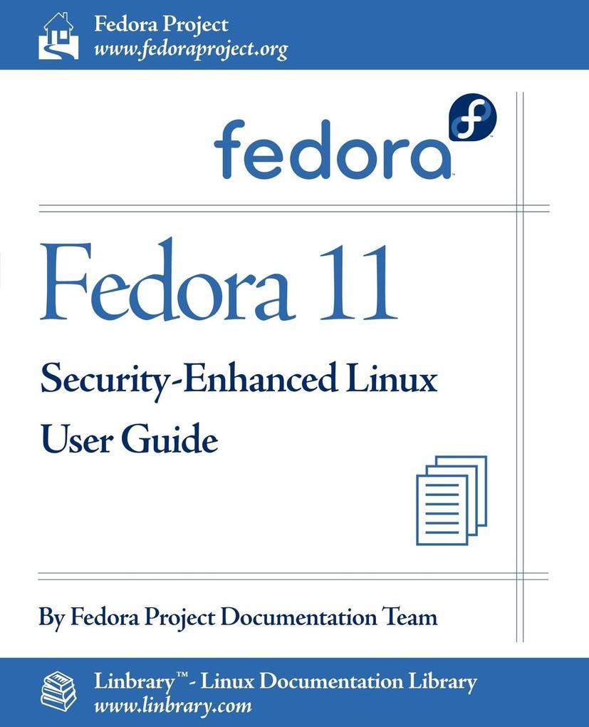 Fedora 11 Security-Enhanced Linux User Guide al...