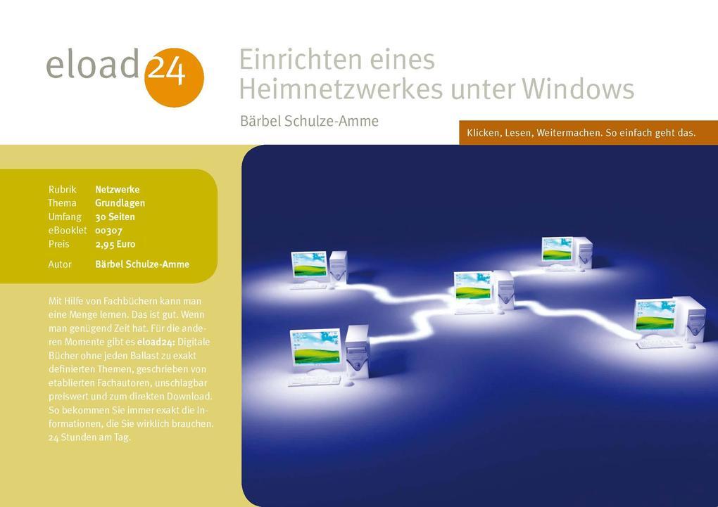 Einrichten eines Heimnetzwerkes unter Windows a...