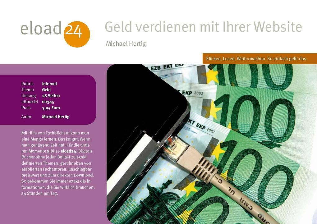 Geld verdienen mit dem Web als eBook Download v...