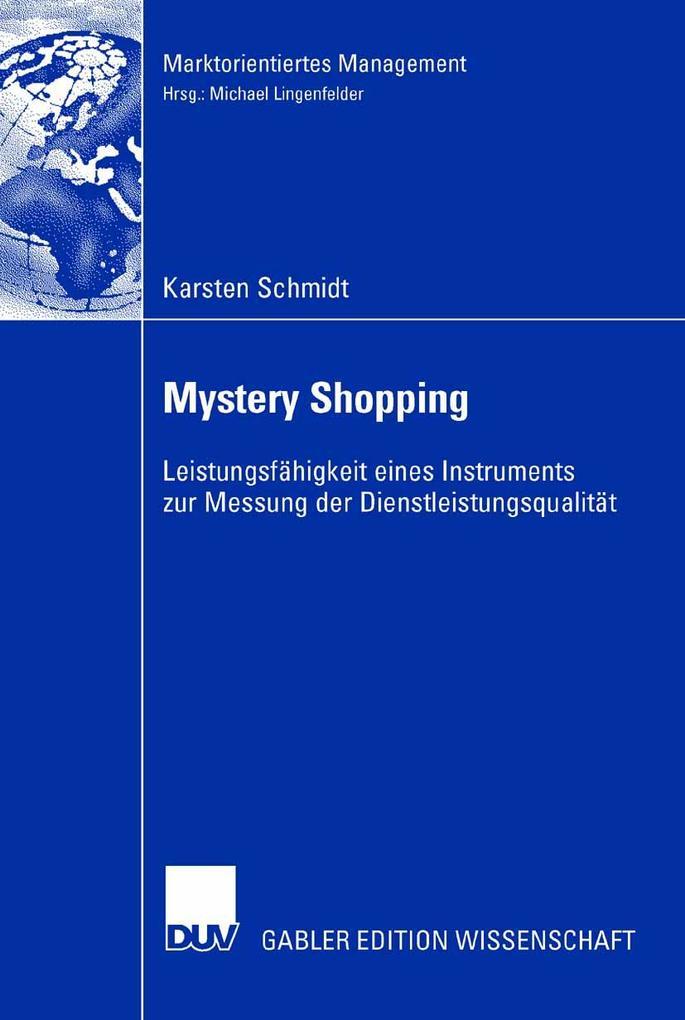 Mystery Shopping als eBook Download von Karsten...