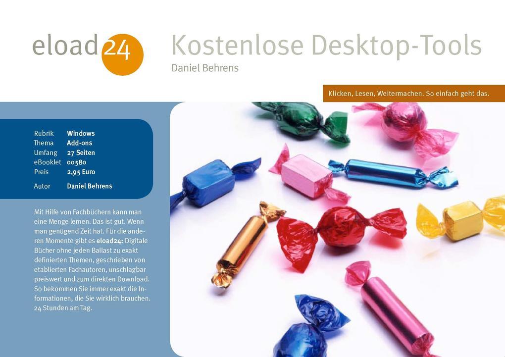 Kostenlose Desktop-Tools als eBook Download von