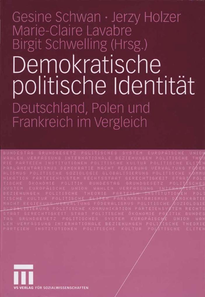 Demokratische politische Identität als eBook Do...