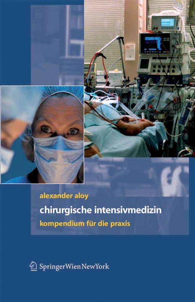 Chirurgische Intensivmedizin als eBook Download...