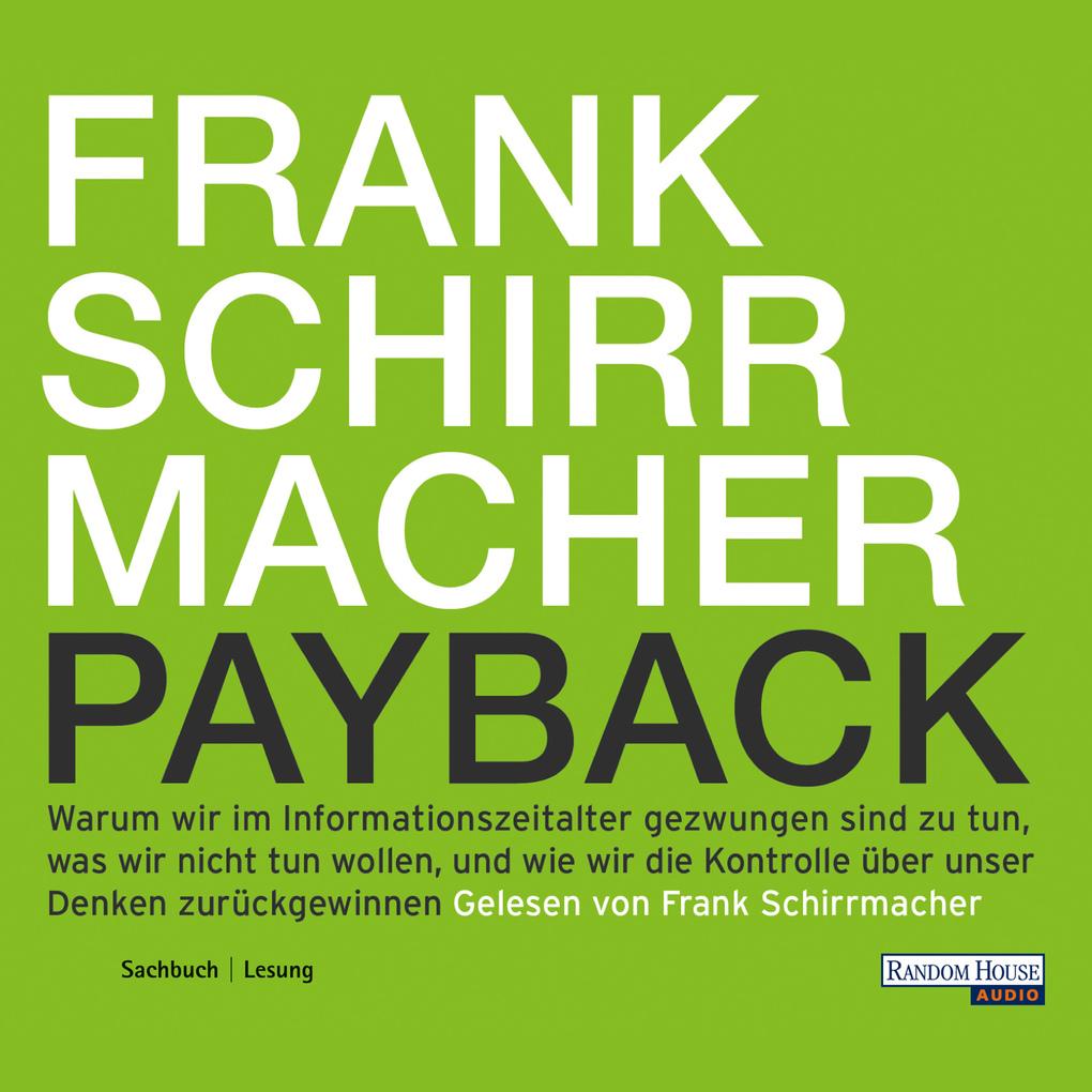 Payback als Hörbuch Download von Frank Schirrma...