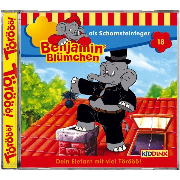 Benjamin Blümchen 018 als Schornsteinfeger. CD ...