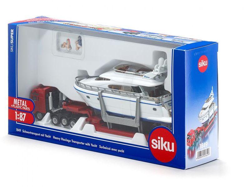 SIKU 1849 - Schwertransport mit Yacht