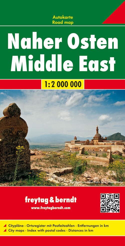 Naher Osten, Autokarte 1:2 Mio. als Buch von