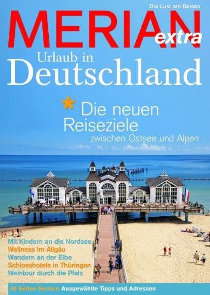 MERIAN extra Urlaub in Deutschland als Buch von