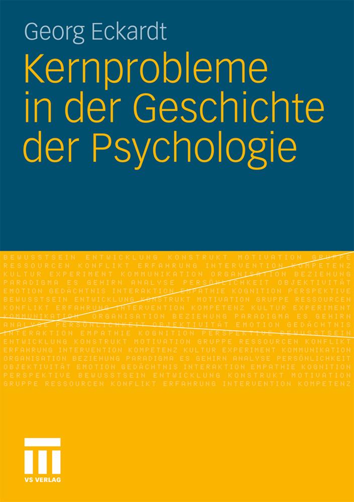 Kernprobleme in der Geschichte der Psychologie ...