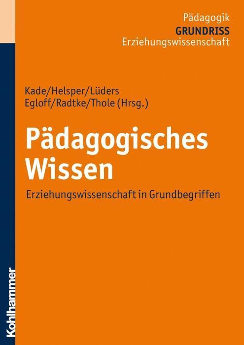 Pädagogisches Wissen als Taschenbuch von