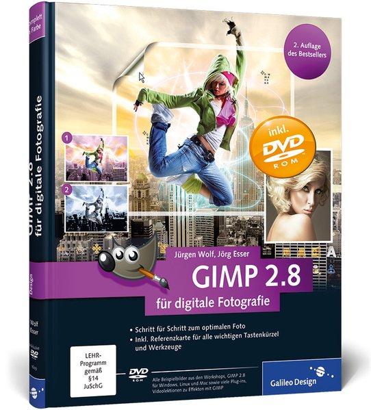 GIMP 2.8 für digitale Fotografie als Buch von J...