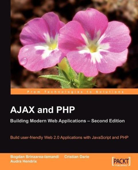 Ajax and PHP als Taschenbuch von Bogdan Brinzar...