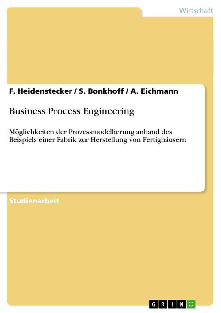 Business Process Engineering als Buch von S. Bo...