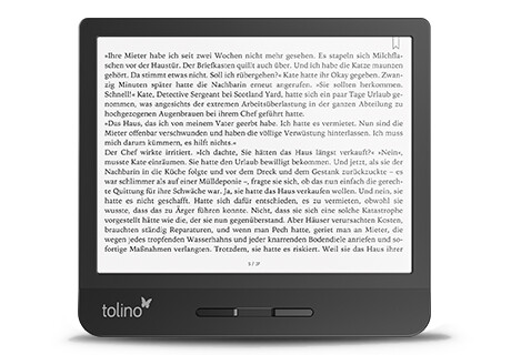 Den tolino vision 5 eReader online bestellen Hugendubel