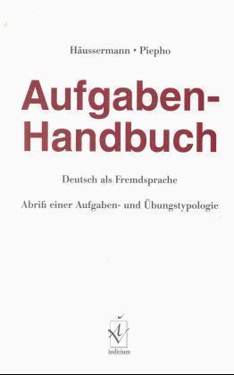 Aufgaben-Handbuch Deutsch als Fremdsprache als Buch