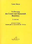 Die Verfassung der Freien- u. Hansestadt Hamburg als Buch