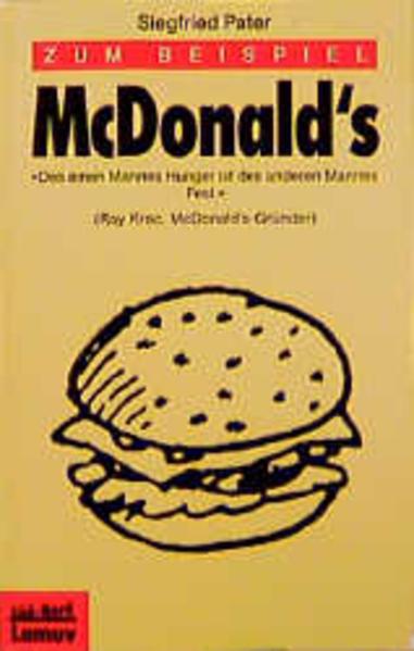 Zum Beispiel McDonald's als Taschenbuch