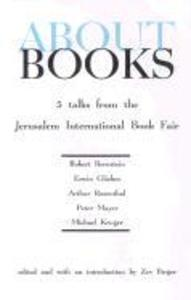 About Books: Five Talks from the Jerusalem Book Fair als Buch