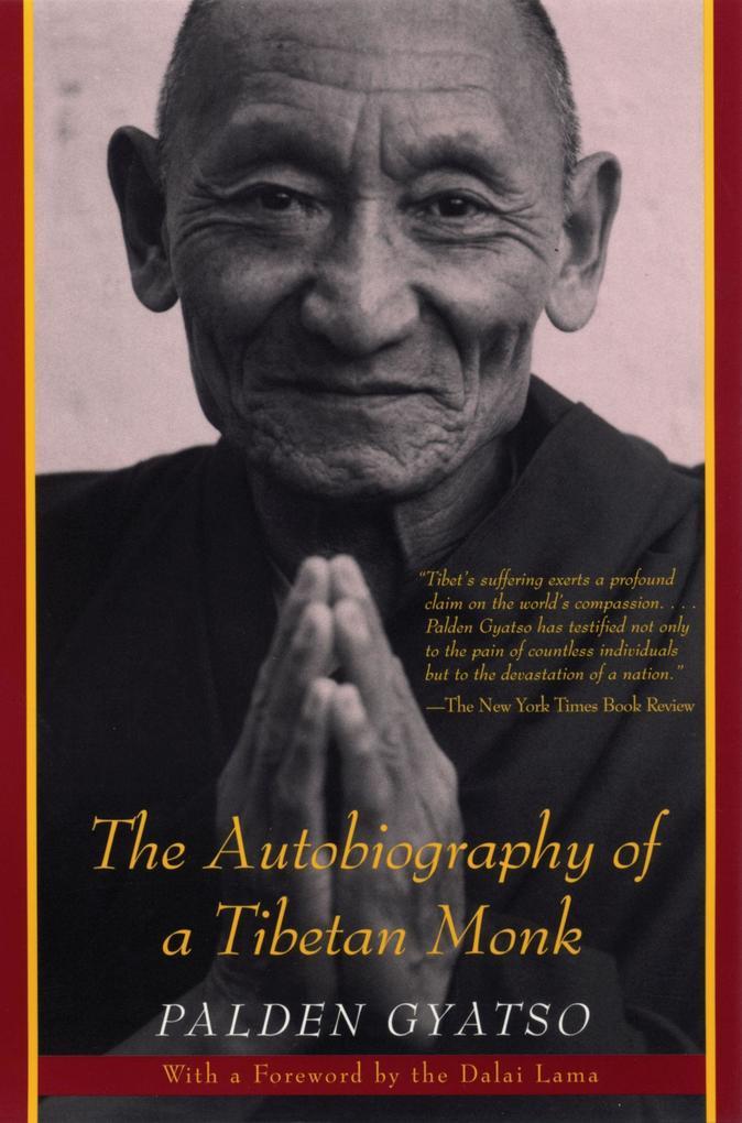 The Autobiography of a Tibetan Monk als Taschenbuch