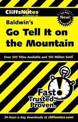 Cliffsnotes on Baldwin's Go Tell It on the Mountain als Taschenbuch