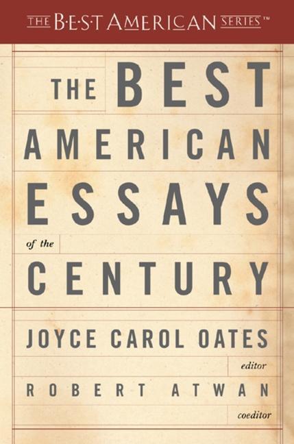 The Best American Essays of the Century als Taschenbuch