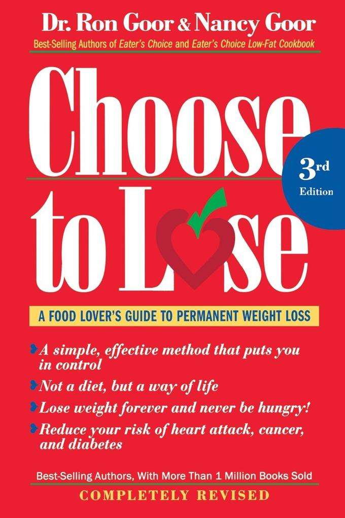 Choose to Lose Weight-Loss Plan for Men: A Take-Control Program for Men with Guts to Lose als Taschenbuch
