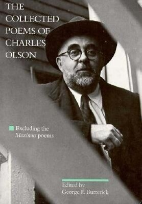 "The Collected Poems of Charles Olson: Excluding The""maximus"" Poems als Taschenbuch"