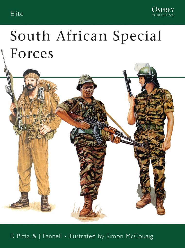 South African Special Forces als Taschenbuch