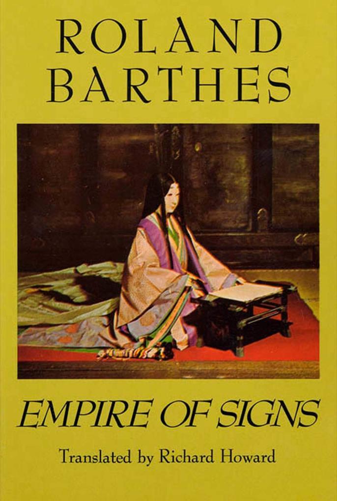 Empire of Signs als Taschenbuch
