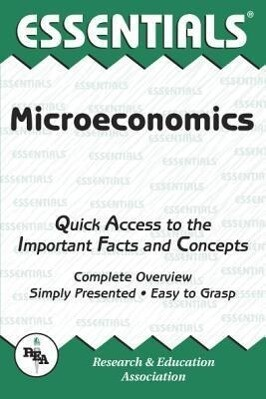 Microeconomics Essentials als Taschenbuch
