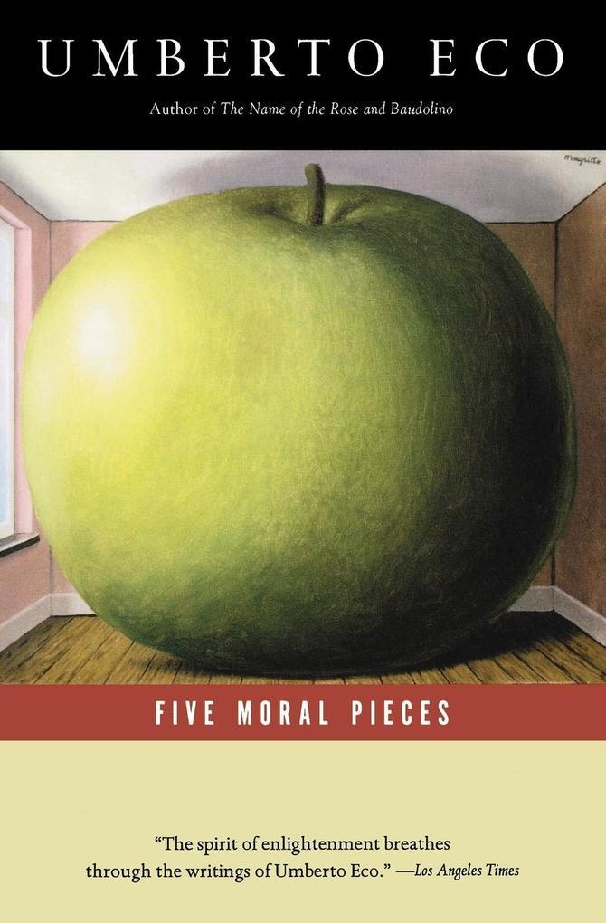Five Moral Pieces als Taschenbuch