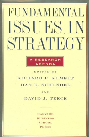 Fundamental Issues in Strategy als Buch
